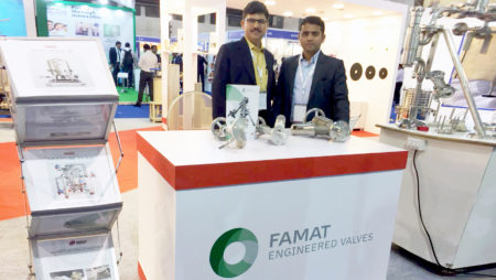 FAMAT team at ChemProTech India 2018