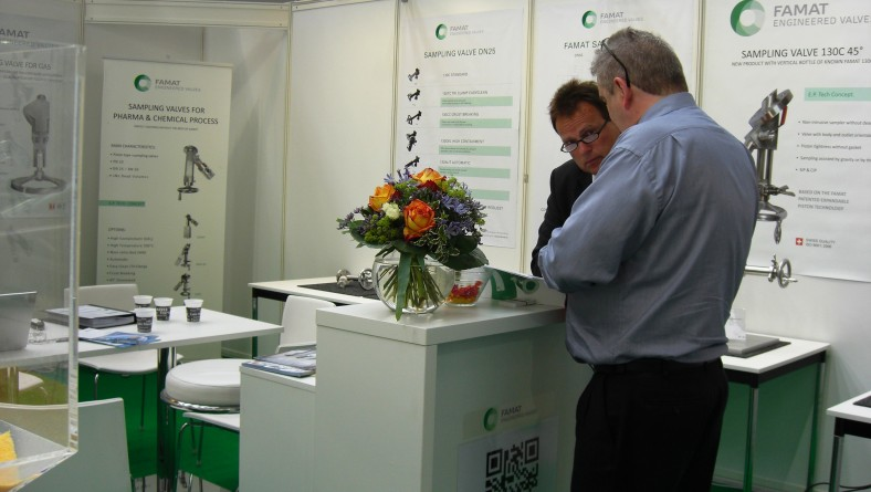Thanks for visiting us at Achema 2015