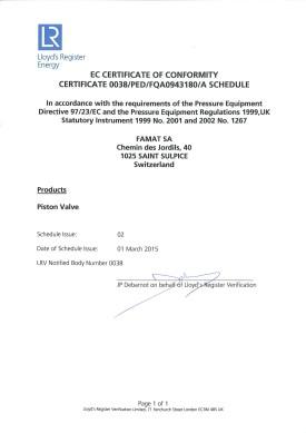 Att D1 - PED Certificate EN 2015 Thumb