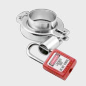 TCS Security lock for tri-clamp